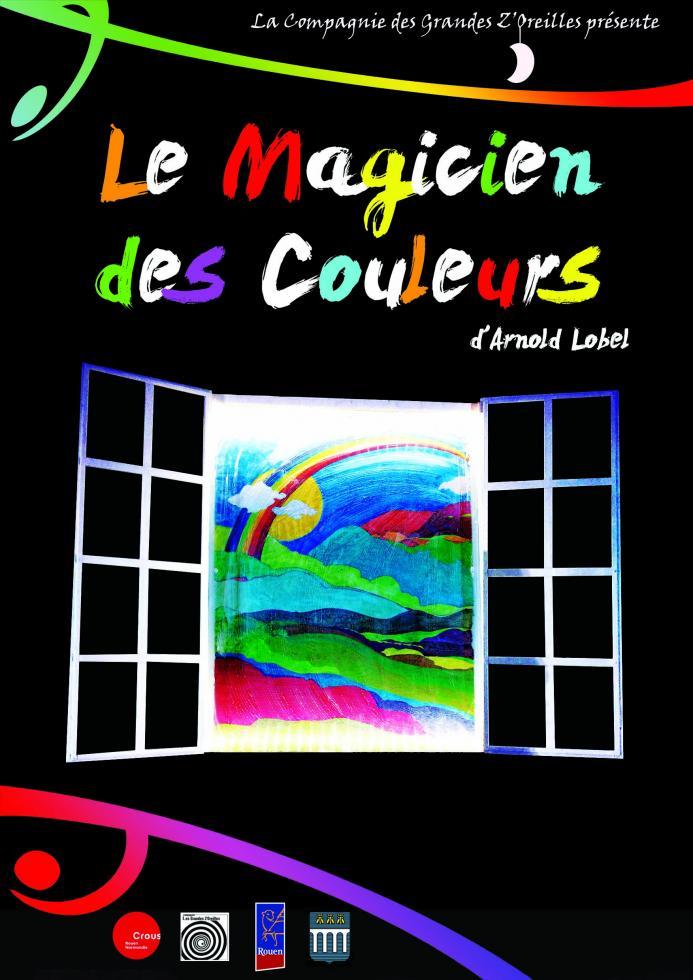 Affiche Le Magicien des couleurs